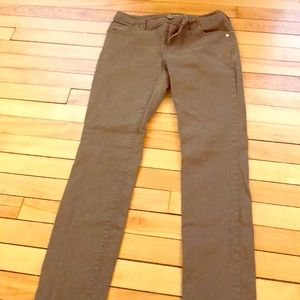 Woman's size 2 olive green jeans
